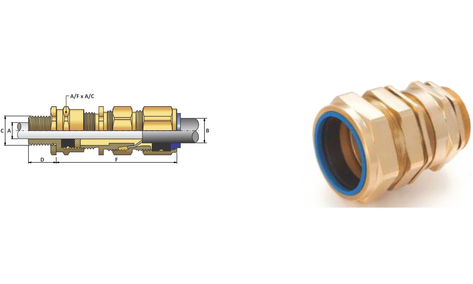 Ốc Siết Cáp-Cable Gland E1X type