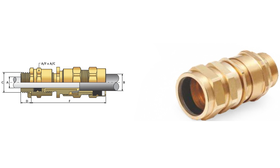 Ốc Siết Cáp-Cable Gland E1XR type