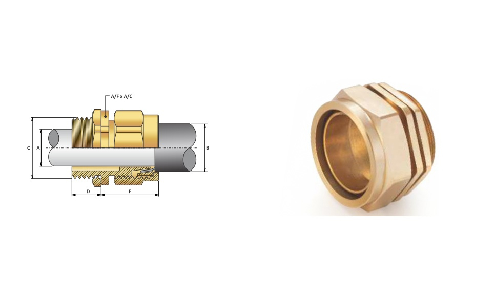 Ốc Siết Cáp-Cable Gland Bw-4 type