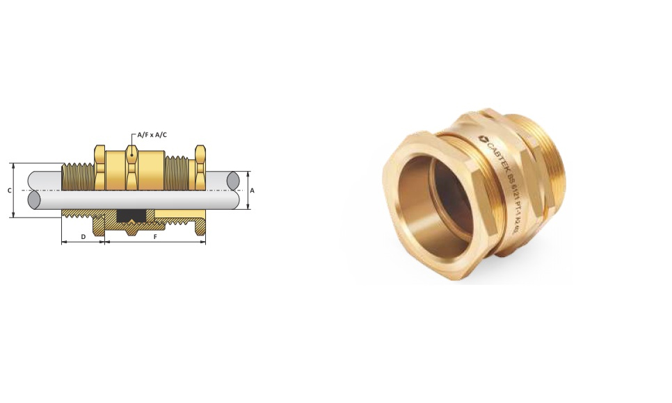 Ốc Siết Cáp-Cable Gland A1A2 type