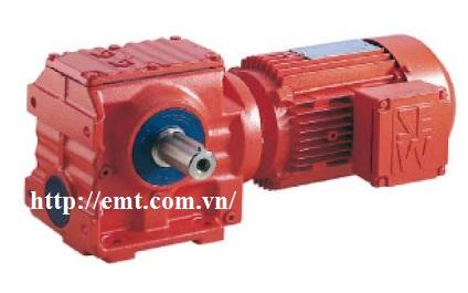 Động cơ giảm tốc SEW loại S (trục vít)